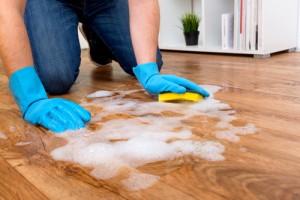 odborné mytí podlahy